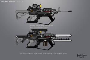 Assault Rifle SIGIL by benedickbana