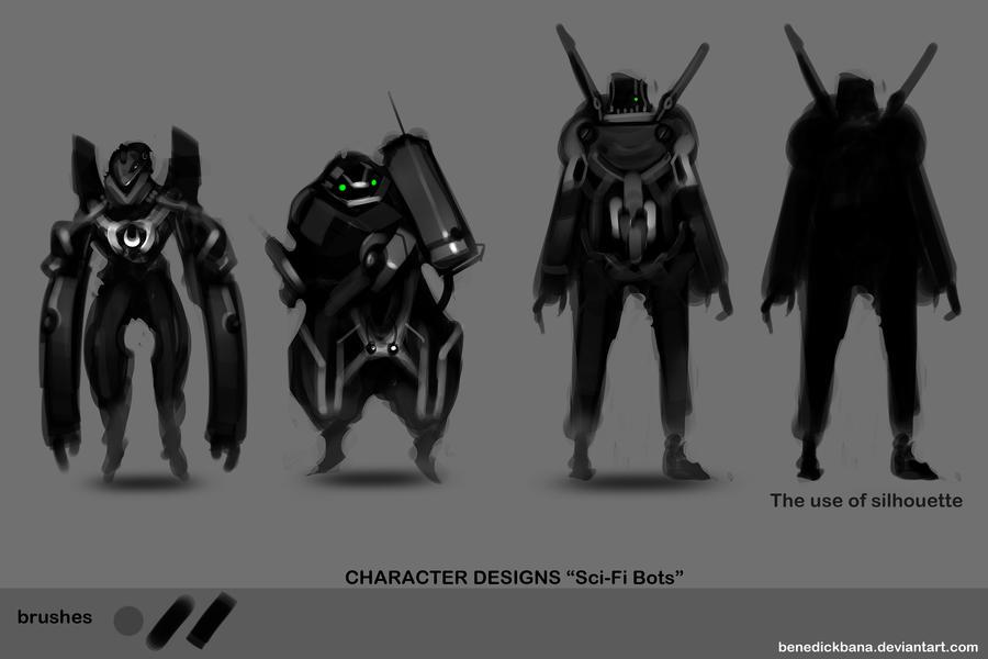 Concept Designs001 Bot by benedickbana