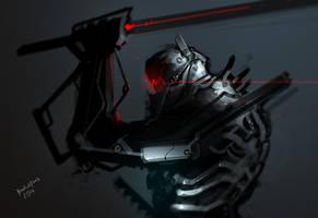 Darkfall Exoskeleton by benedickbana