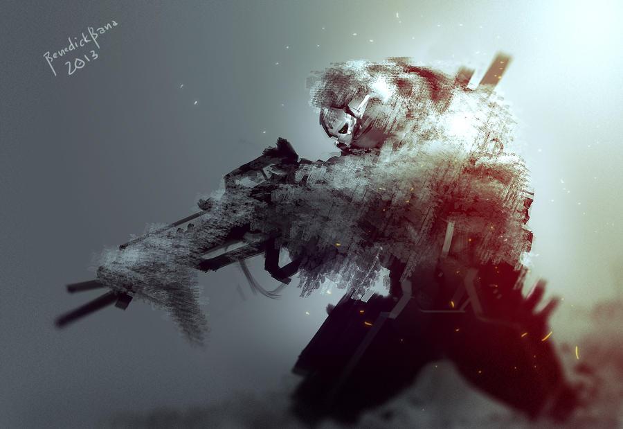 Camo Sniper by benedickbana