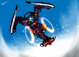 Sci-fi Snowboarding