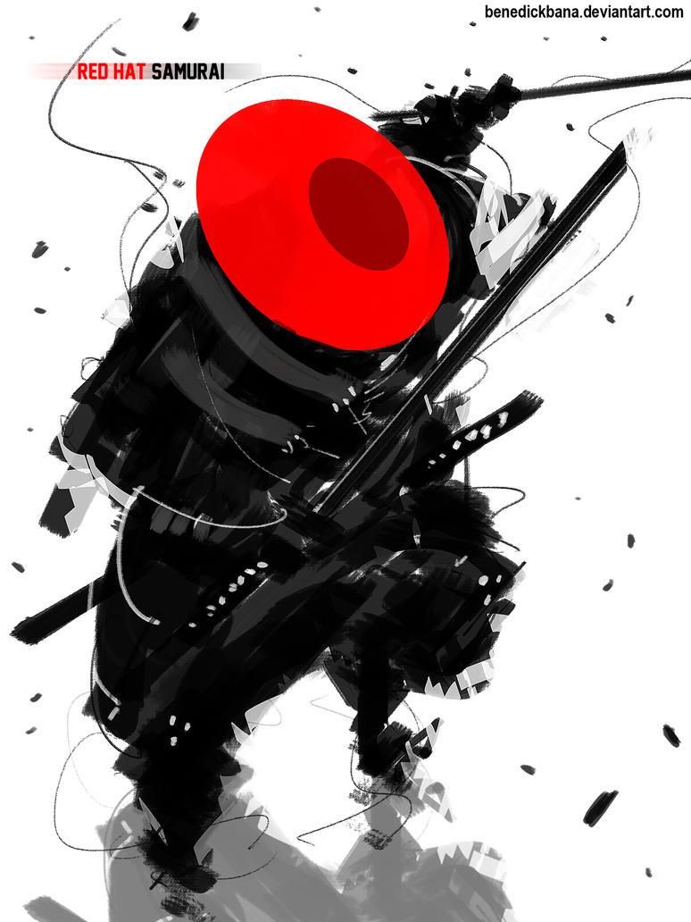 Red Hat Samurai by benedickbana