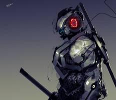 Ninja from the future #2 by benedickbana