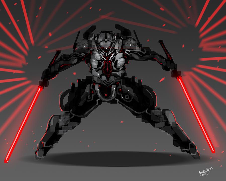 twin laser blades
