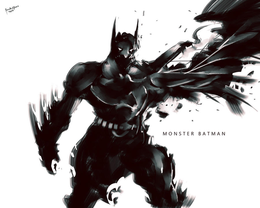 Monster Batman by benedickbana