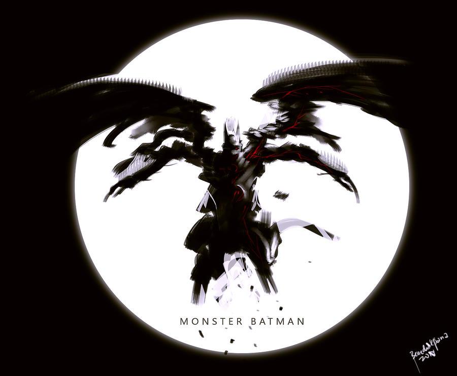 Monster Batman no2 by benedickbana