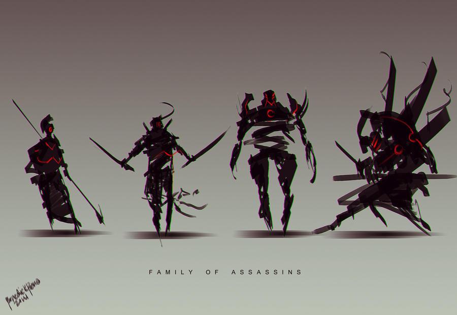 Family of Assassins by benedickbana