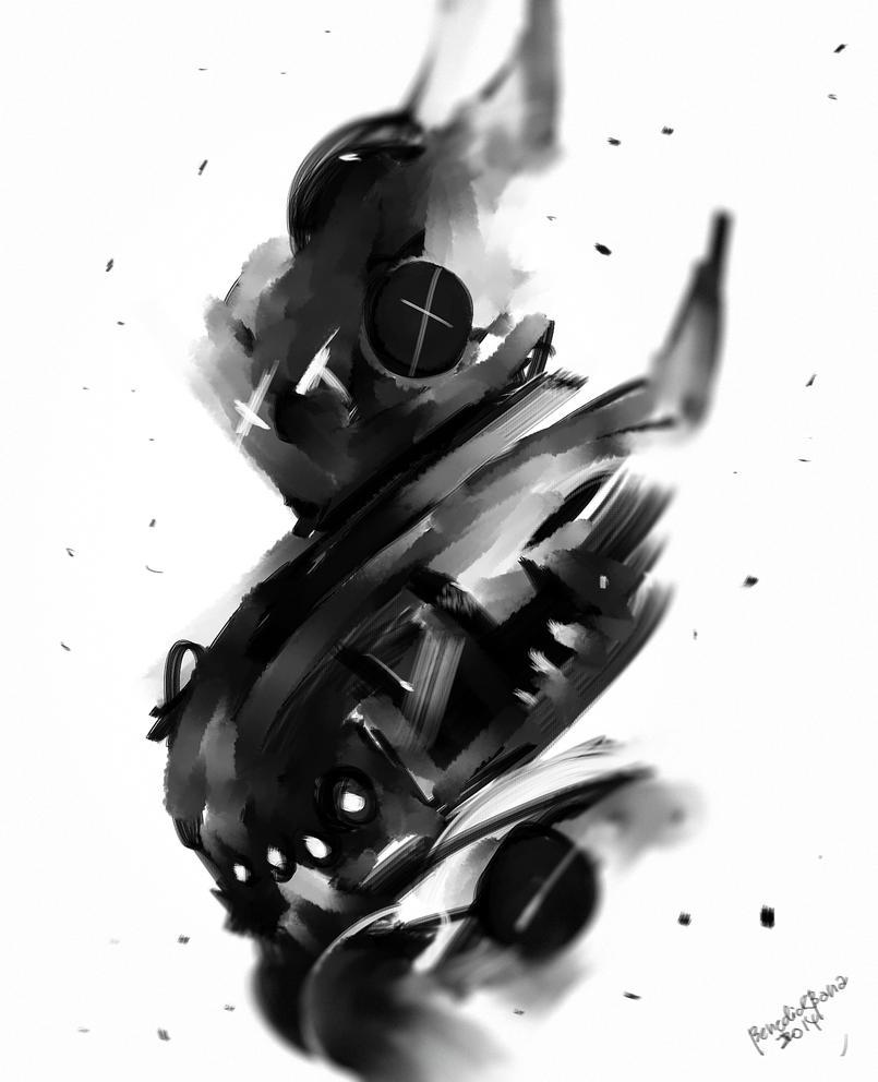 Wolverine X Cyber Evolution by benedickbana