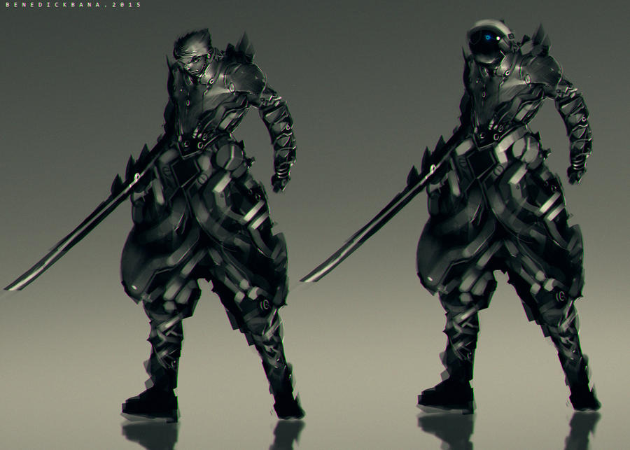 Advanced Light Suit Warrior by benedickbana