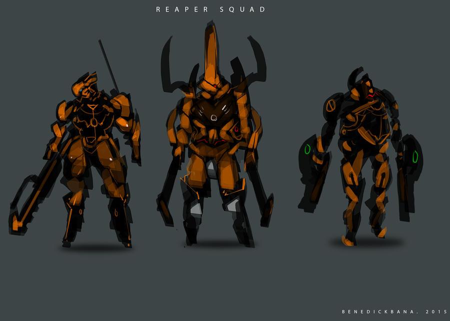Reaper Squad by benedickbana