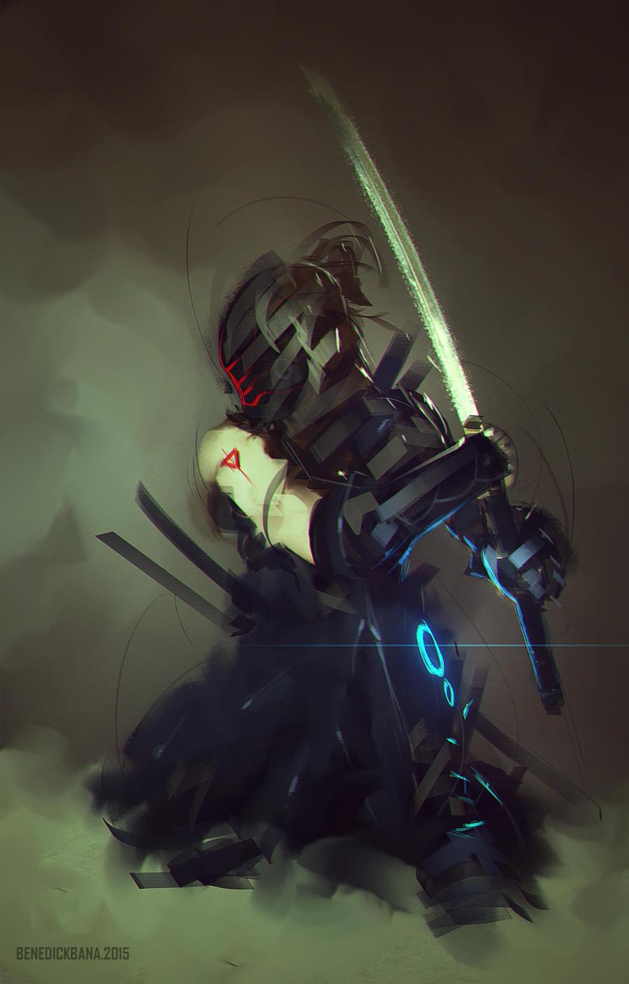 Robot Ninja by benedickbana