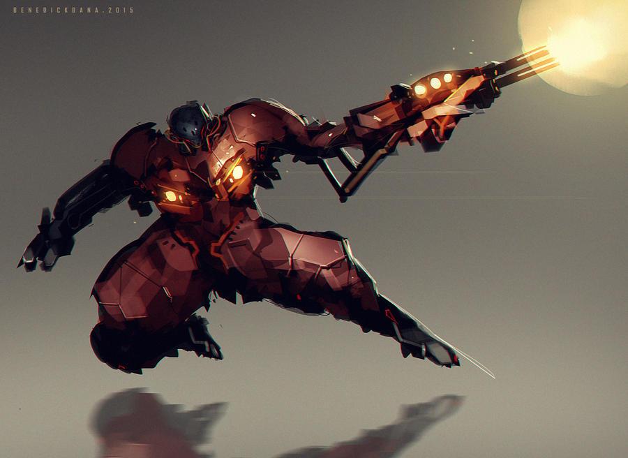 Gunner Concept by benedickbana