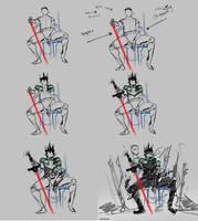Action Pose Tutoria WIPl_Quick Sketch102 by benedickbana