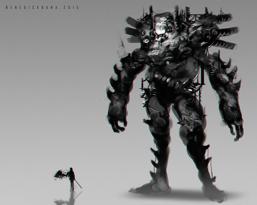 Shadow of the Colossus Fan Art C by benedickbana
