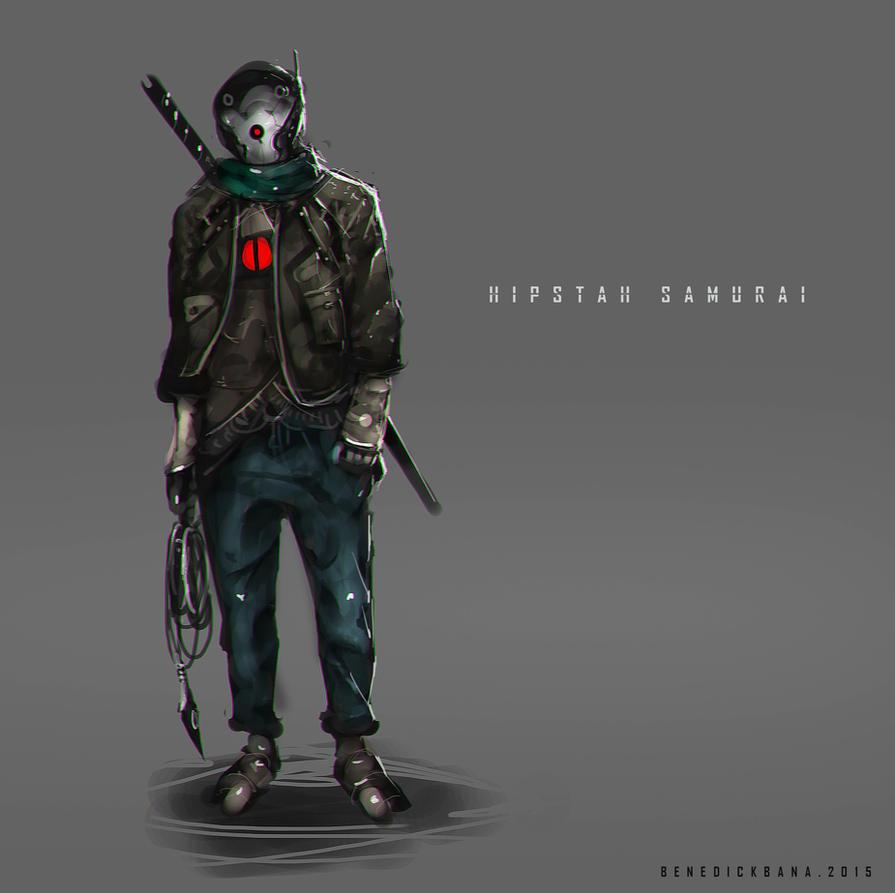 Hipstah Samurai by benedickbana