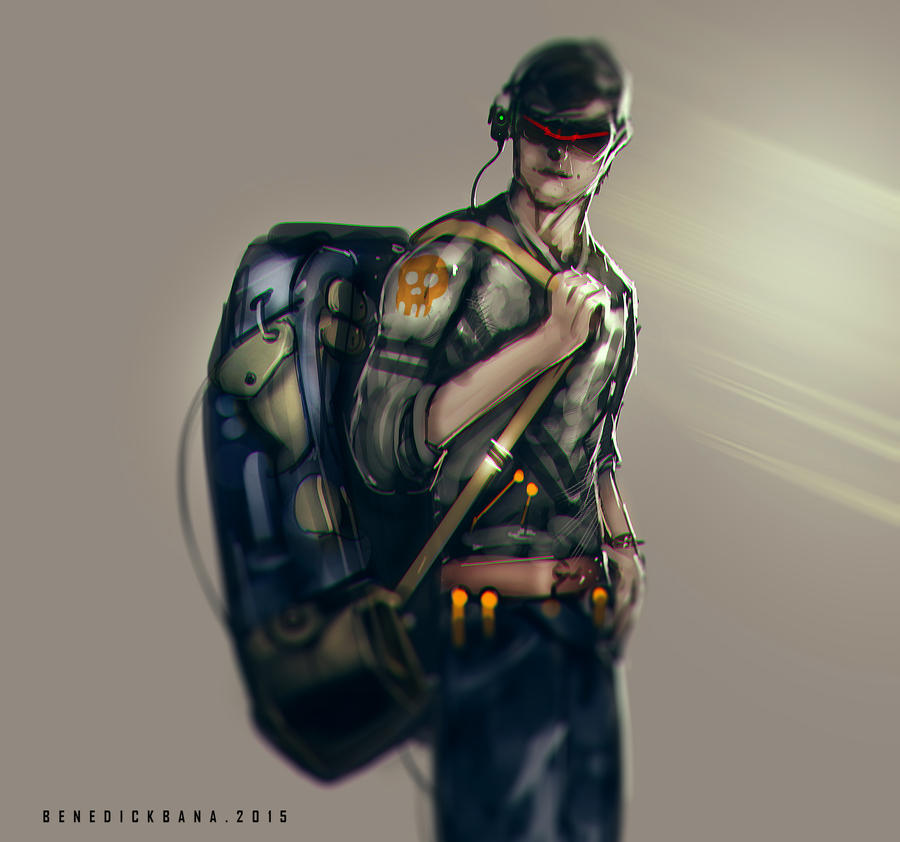 Backpack by benedickbana