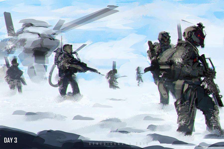 Speedpaint Snow Patrol by benedickbana