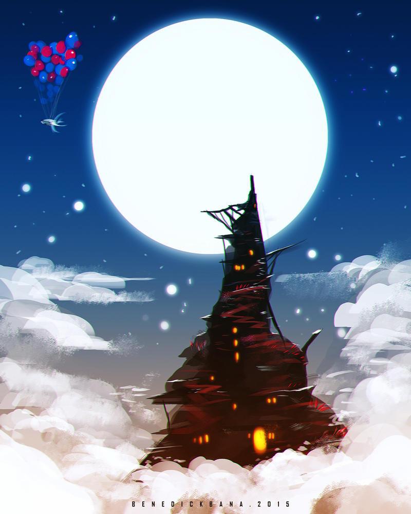 Peak Tower by benedickbana