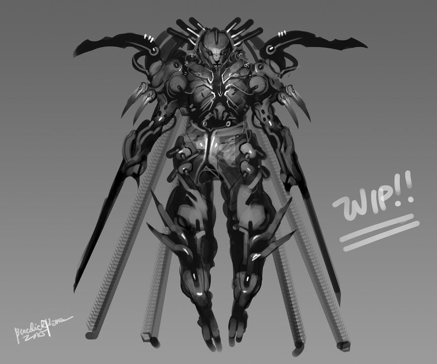 Dark Claw Work in Progress 2 by benedickbana