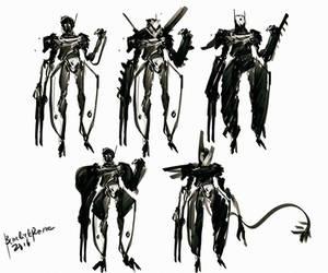 Claw Warrior design 102 by benedickbana