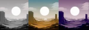 landscape study 104 color scheme
