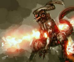 Fire Demon by benedickbana