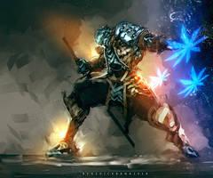 Futuristic Ronin II