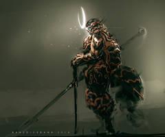 Lightning God by benedickbana
