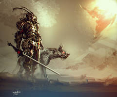Vampire hunter Knight by benedickbana