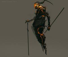 Sword of Destiny Characters AMURO by benedickbana