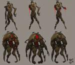 Zombie madness concept art