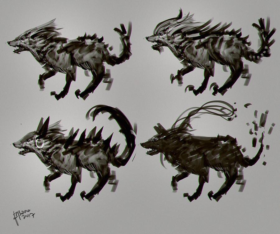 Wolf Sigma concept art by benedickbana