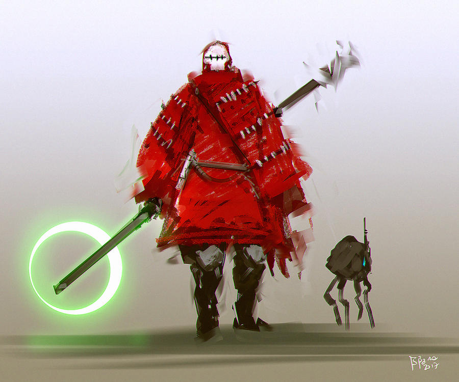 Jedi Mercenary Fanart by benedickbana