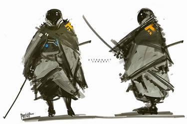 Astronaut Samurai