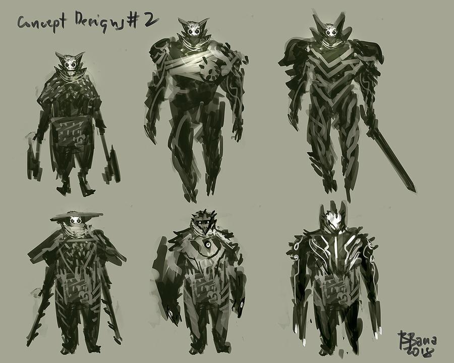 Speedpaint concept designs by benedickbana