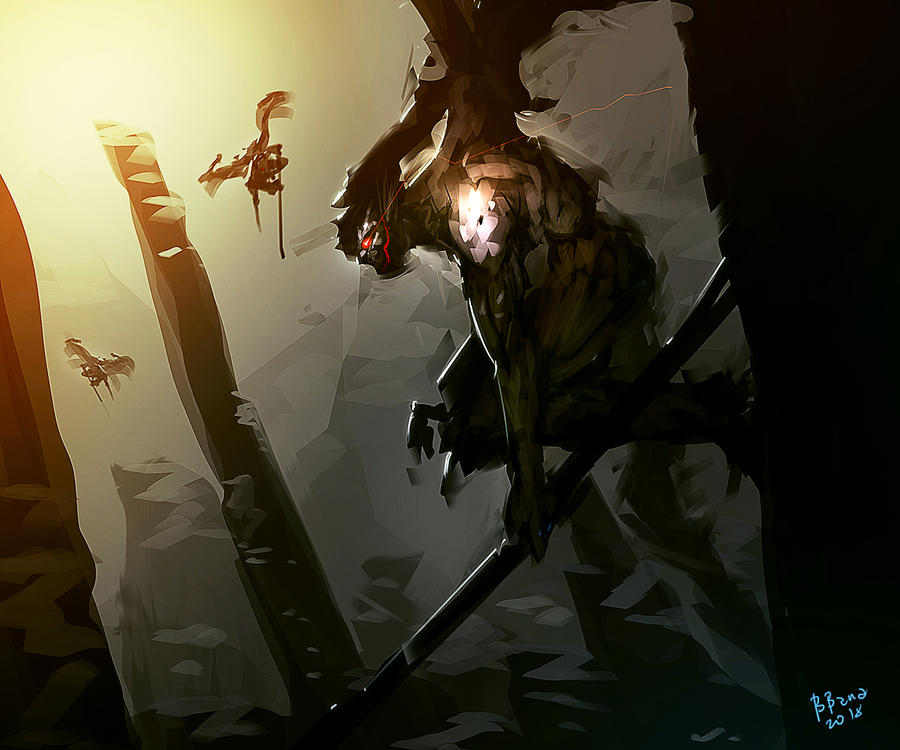 Demon Watcher by benedickbana