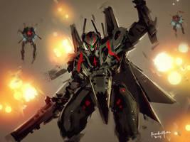 Robotech FanArt by benedickbana