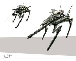 Four Legged Tank CrabShock by benedickbana