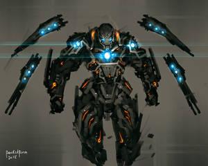 Ironman DarkMatter Armor Fanart