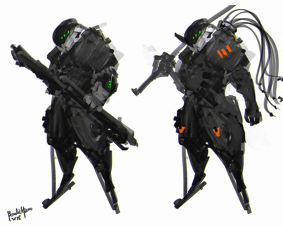 Neo Soldiers concept design by benedickbana