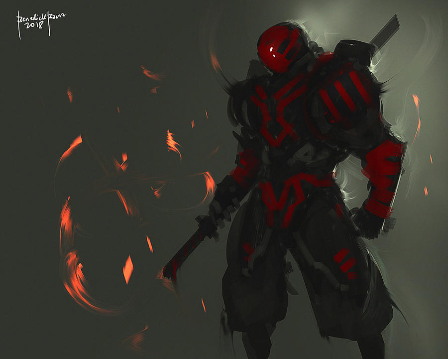 Red by benedickbana