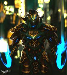 Soltice Warrior by benedickbana