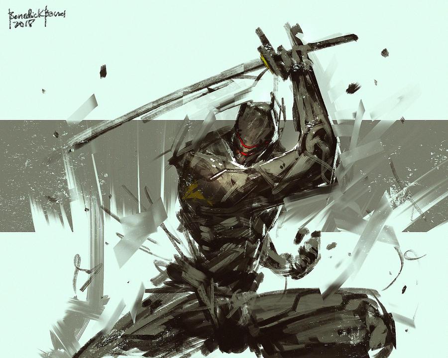 Merc Ninja ZERODAWN by benedickbana