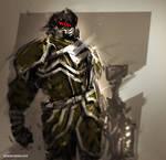 Speedpaint Merc Soldier
