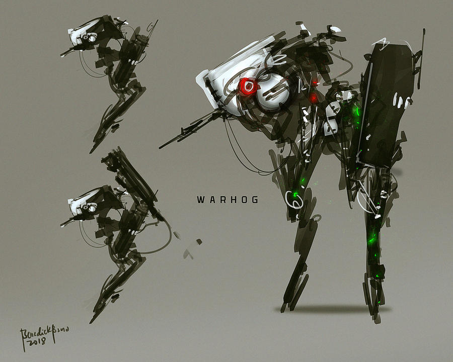 War Hog mechanical War unit by benedickbana