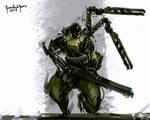 Speedpaint Darkfall MU