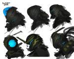 mechanized Helmet design set