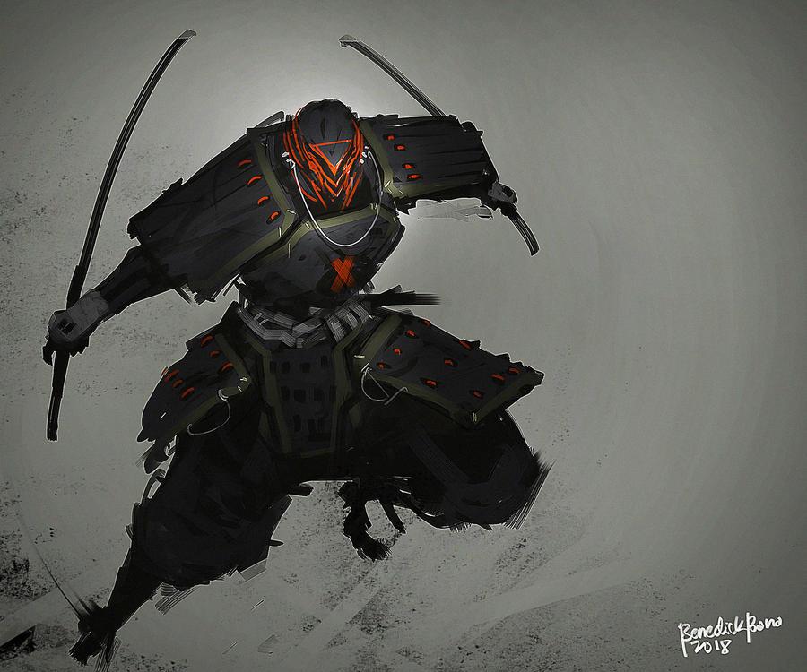 Zero Samurai by benedickbana