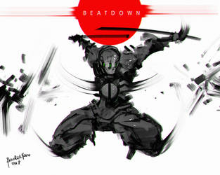 Beatdown Ninja by benedickbana