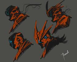 Speedpaint ExoPilot Suit by benedickbana